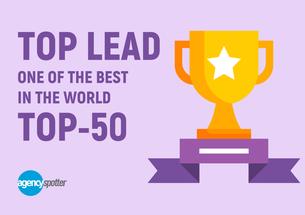 Top Lead серед 50 найкращих контент-маркетингових агенцій у світі!
