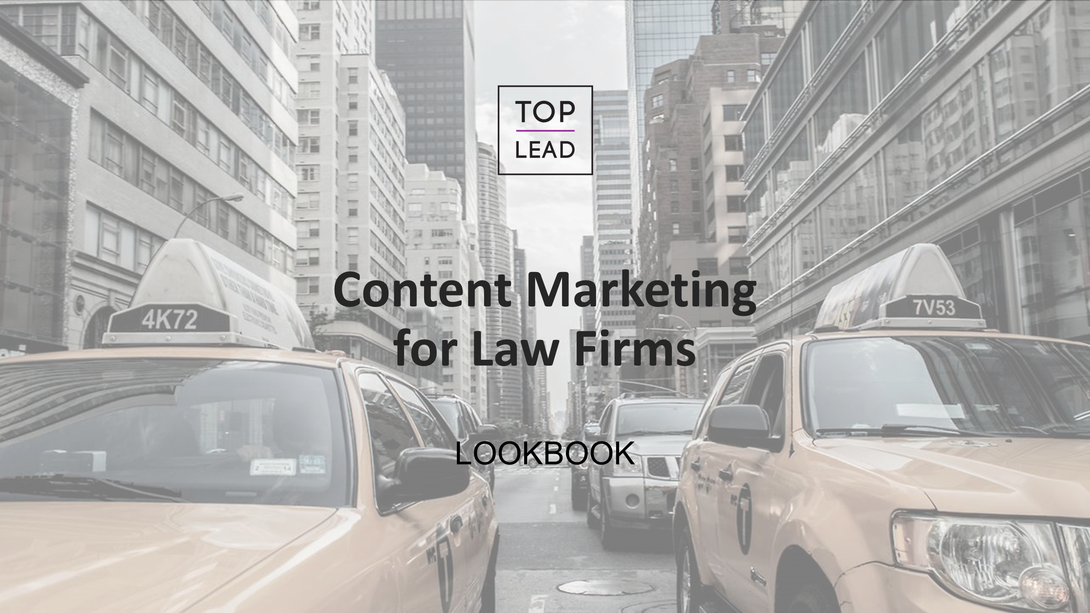 Lookbook. Контент-маркетинг для юридических компаний