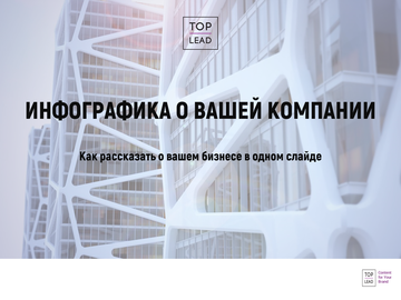 LookBook: инфографика о вашей компании