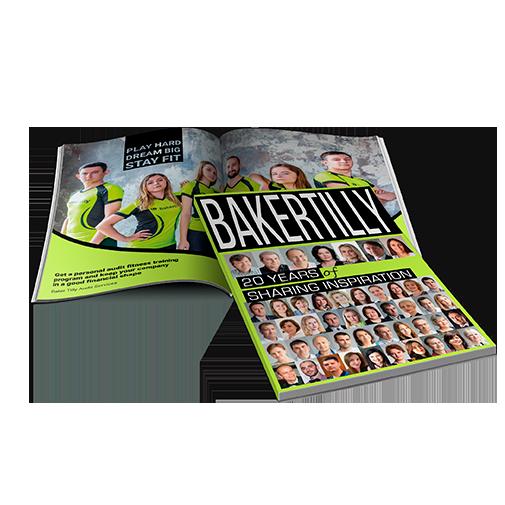 Корпоративне видання у стилі глянцевого журналу для залучення талантів