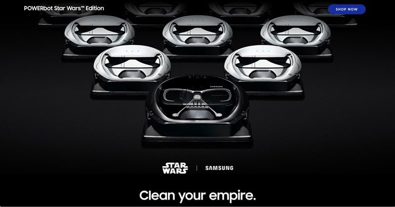 Samsung Star Wars the Last Jedi