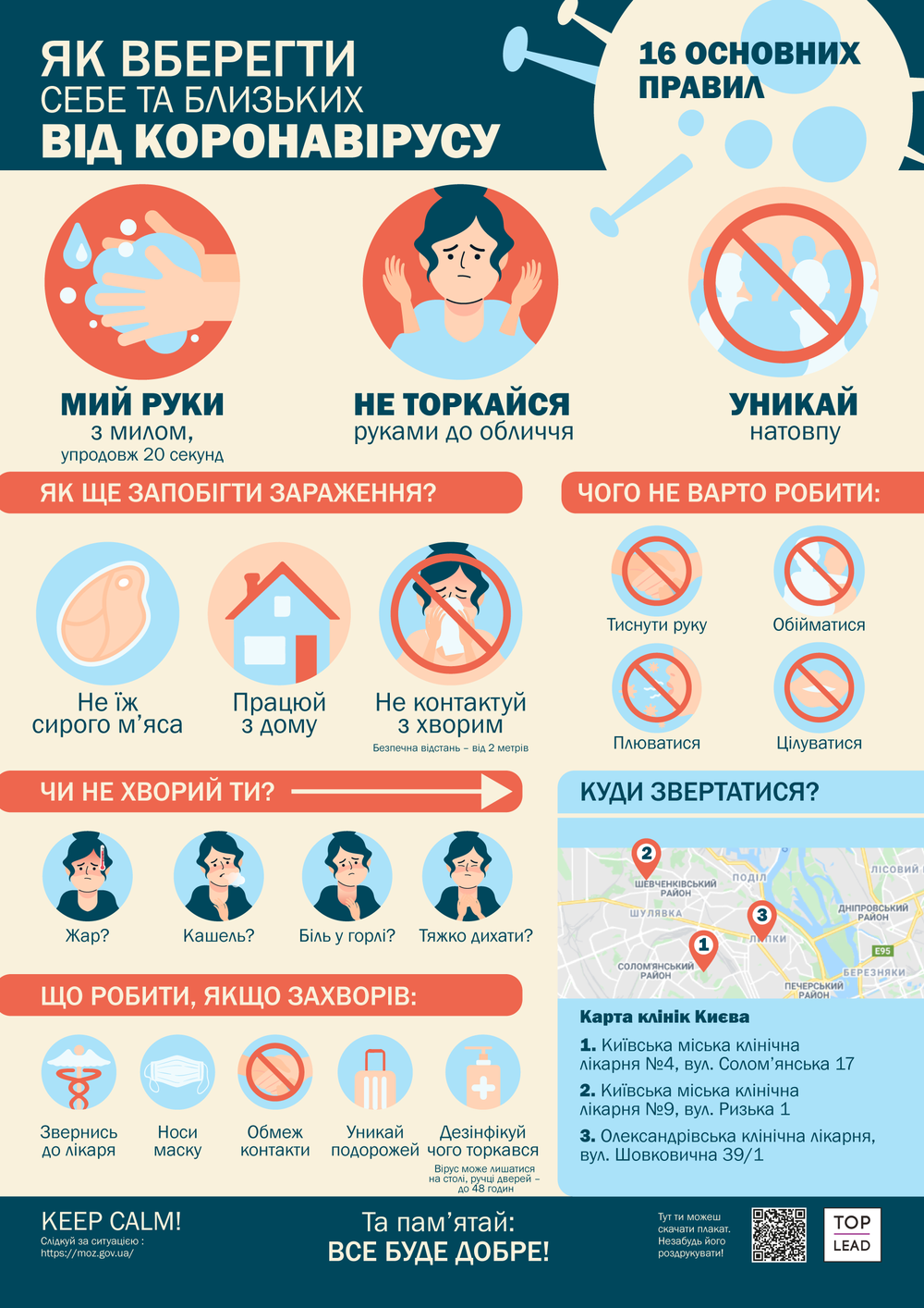 інфографіка про коронавірус